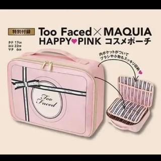 トゥフェイス(Too Faced)のMAQUIA  マキア  2020年 11月号付録(ポーチ)
