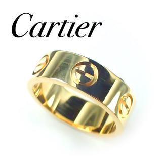 カルティエ(Cartier)のCartier カルティエ ラブリング K18YG 46号 保証書有り  (リング(指輪))