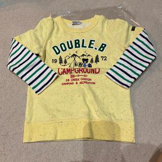 ダブルビー(DOUBLE.B)の売約済 ダブルビー  トレーナー  重ね着風(Tシャツ/カットソー)