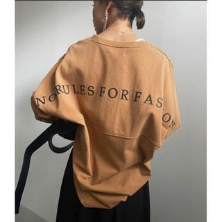 アメリヴィンテージ(Ameri VINTAGE)のBACK PRINT BASEBALL TEE(Tシャツ(長袖/七分))