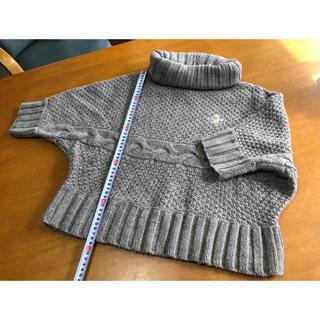 ラブラドールリトリーバー(Labrador Retriever)のラブラ タートルショート丈セーター(ニット/セーター)