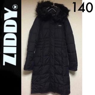 ジディー(ZIDDY)の新品☆Ziddyロングダウン風コート黒 ジディJENNI Roniラブトキシック(コート)