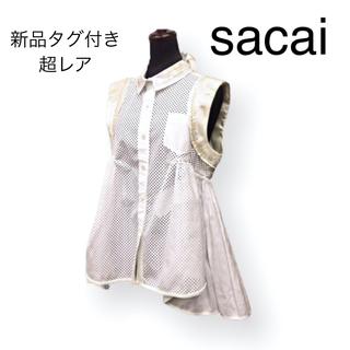 サカイ(sacai)のサカイ 切り替えデザインブラウス(シャツ/ブラウス(半袖/袖なし))
