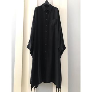 ワイズ(Y's)のYohji Yamamoto Y's 16AW オーバーサイズシャツワンピース(ロングワンピース/マキシワンピース)