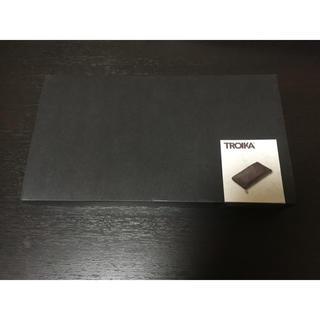 ラウンドファスナー付トラベルケース ミッドナイト [TRV69-LE] トロイカ(旅行用品)