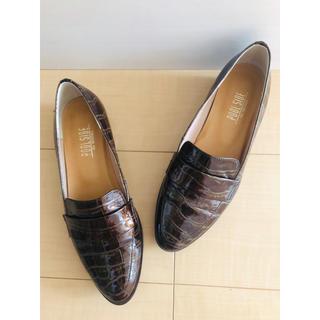 プールサイド(POOL SIDE)のPOOLSIDE  晴雨兼用 エナメルローファー(ローファー/革靴)