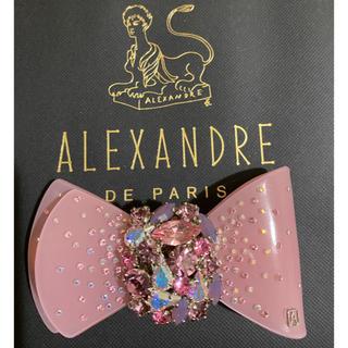 アレクサンドルドゥパリ(Alexandre de Paris)のALEXANDRE DE PARIS アレクサンドルドゥパリ リボン バレッタ(バレッタ/ヘアクリップ)