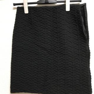 イエナスローブ(IENA SLOBE)の【IENA SLOBE】スカート ブラック(ミニスカート)