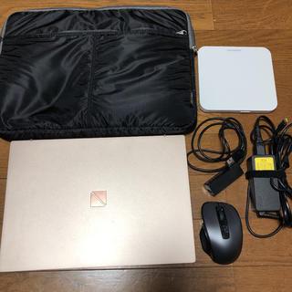 エヌイーシー(NEC)のNEC PC-PM550NAG ノートパソコン 箱無し(ノートPC)