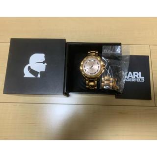 カールラガーフェルド(Karl Lagerfeld)のカールラガーフェルド 腕時計(腕時計(アナログ))