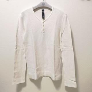 ダブルジェーケー(wjk)のWjk 長袖カットソー  ホワイト(Tシャツ/カットソー(七分/長袖))