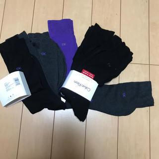 カルバンクライン(Calvin Klein)の送料込み^_^新品未使用品 カルバンクラインメンズ靴下8足 25ー29センチ(ソックス)