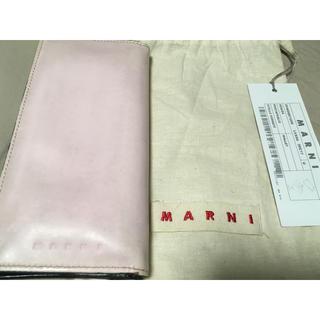 マルニ(Marni)のMARNI マルニ ベビーピンク 長財布(財布)