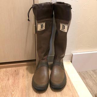 ハンター(HUNTER)の長靴 レインブーツ バードウォッチング 茶色(レインブーツ/長靴)