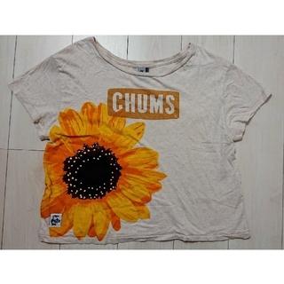 チャムス(CHUMS)のCHUMS Tシャツ ひまわり柄(Tシャツ(半袖/袖なし))