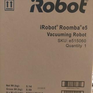 アイロボット(iRobot)のルンバ Roomba e5 ロボット掃除機 iRobot(掃除機)