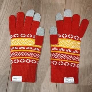アダムエロぺ(Adam et Rope')のジョージア スマホ手袋 Adam et Rope(手袋)