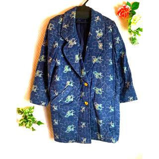 レオナール(LEONARD)のレオナール 刺繍チェスターロングコート(ロングコート)
