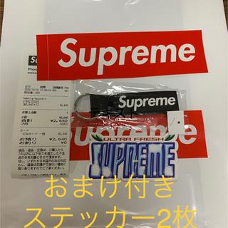 シュプリーム(Supreme)のシュプリームsupreme webbing keychain 黒キーホルダー(キーホルダー)