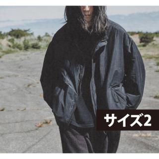 コモリ(COMOLI)の【Okada様専用】COMOLI ナイロンショートジャケット ネイビー サイズ2(ナイロンジャケット)