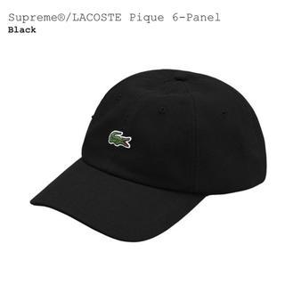 シュプリーム(Supreme)の★送料込み★美品★Supreme★Lacoste★6-Panel Cap(キャップ)