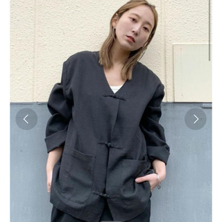 Kastane - カスタネ チャイナシャツジャケット