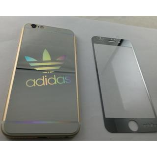 アディダス(adidas)の海外限定アディダスアイフォン強化ガラス(保護フィルム)