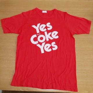コカコーラ(コカ・コーラ)のコカ・コーラ T-シャツ M(Tシャツ/カットソー(半袖/袖なし))