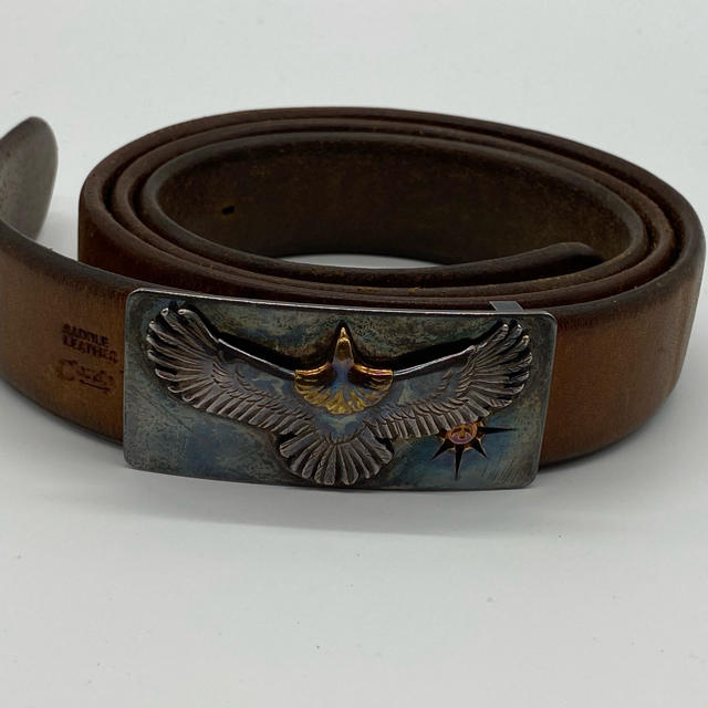 goro's(ゴローズ)のゴローズ 固定式小イーグルバックルベルト3センチ幅 メンズのファッション小物(ベルト)の商品写真