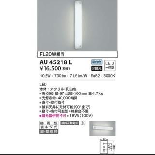 KOIZUMI - KOIZUMI コイズミ照明 防雨型ブラケット AU45218L