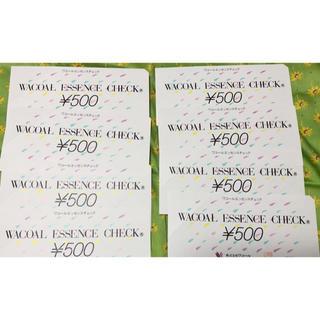 ワコール(Wacoal)のワコールエッセンスチェック 8枚(ショッピング)