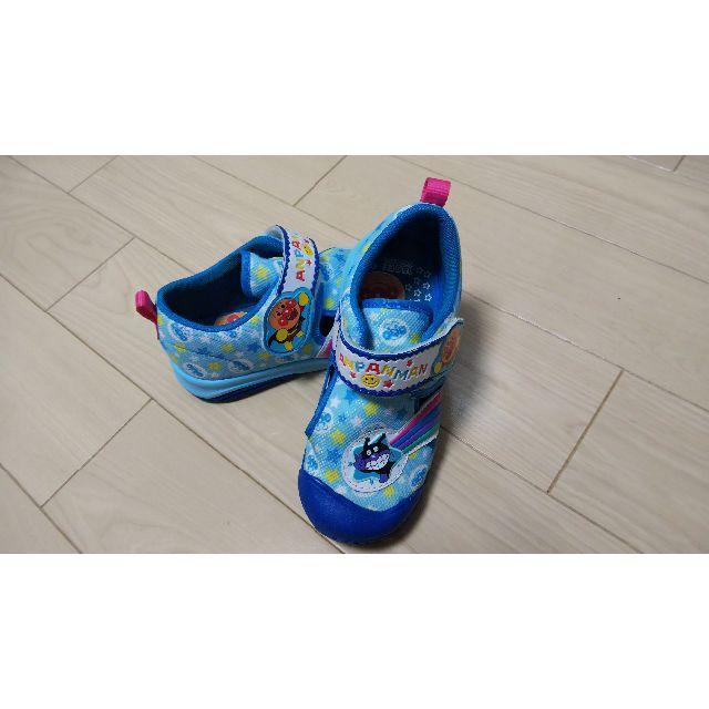 アンパンマン(アンパンマン)のアンパンマン  スニーカーサンダル  18センチ キッズ/ベビー/マタニティのキッズ靴/シューズ(15cm~)(スニーカー)の商品写真