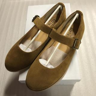 メルロー(merlot)の◆MERLOT IKYU◆キャメルストラップシューズ◆(ローファー/革靴)