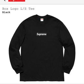 シュプリーム(Supreme)のSupreme Box Logo L/S Tee BLACK L(Tシャツ/カットソー(七分/長袖))