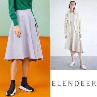 エンフォルド(ENFOLD)のELENDEEK ドラマティック スカート (ひざ丈スカート)
