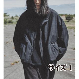 コモリ(COMOLI)のCOMOLI 20AW新作 ナイロンショートジャケット ネイビー サイズ1(ナイロンジャケット)