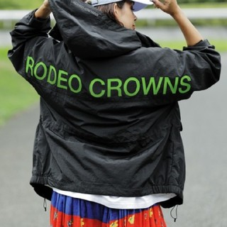 ロデオクラウンズワイドボウル(RODEO CROWNS WIDE BOWL)の新品ブラック(男女兼用)こちらの商品は複数同梱の条件で値引き交渉が可能です。(ナイロンジャケット)