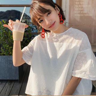 Chesty - rosy monster  powan lace ブラウス