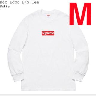 シュプリーム(Supreme)のSupreme Box Logo L/S Tee シュプリーム ボックス ロゴ(Tシャツ/カットソー(七分/長袖))