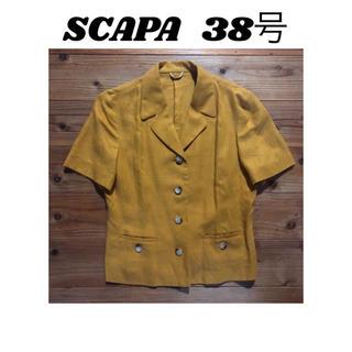 スキャパ(SCAPA)の半袖 ジャケット スキャパ(テーラードジャケット)