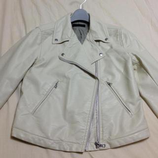 ユニクロ(UNIQLO)の値下げしました☆ライダースジャケット(ライダースジャケット)