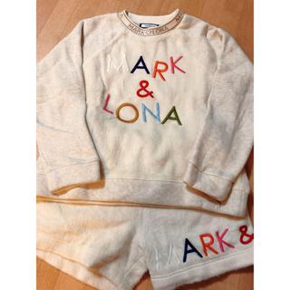マークアンドロナ(MARK&LONA)のMARK&LONA♡トレーナー&ショートパンツ♡マークアンドロナ (ウエア)