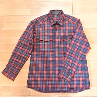 モンベル(mont bell)の【値下可能】〈モンベル〉長袖チェックシャツ(シャツ)