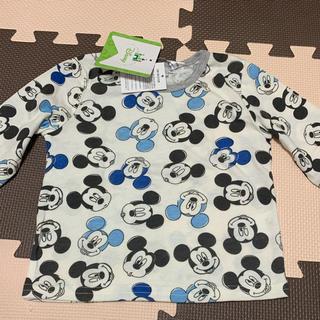 Disney - 新品◡̈⃝♡Disney ミッキーマウス 総柄ロンT 80㎝