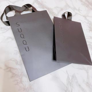 スック(SUQQU)のSUQQU ギフトボックス 紙袋セット(ショップ袋)