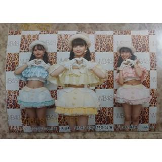 NMB48 - NMB48 結成10周年特別公演 D2期生集合(Lサイズ) 生写真 安田桃寧…