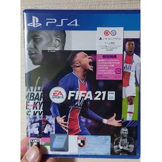 プレイステーション4(PlayStation4)の新品未開封 FIFA 21 PS4(家庭用ゲームソフト)