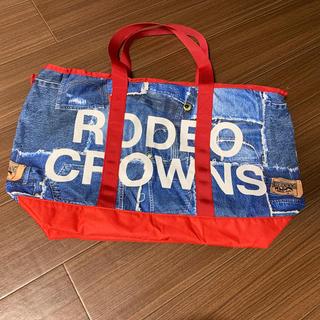 ロデオクラウンズワイドボウル(RODEO CROWNS WIDE BOWL)のロデオ ボストンバッグ赤(ボストンバッグ)