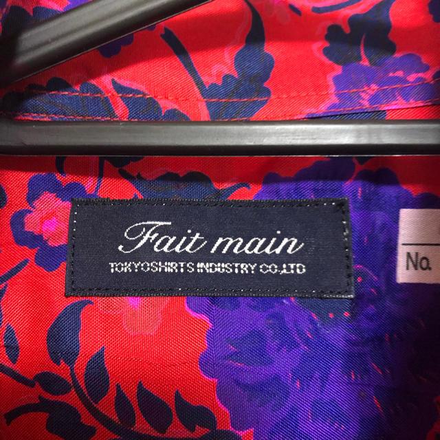 今週まで!faitmainフェマンシルク100%ブラウスシャツ レディースのトップス(シャツ/ブラウス(長袖/七分))の商品写真