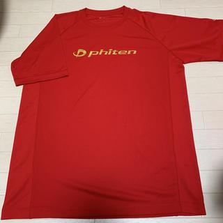 【美品】 phiten ファイテン Tシャツ 3L バレーボール Tシャツ 速乾